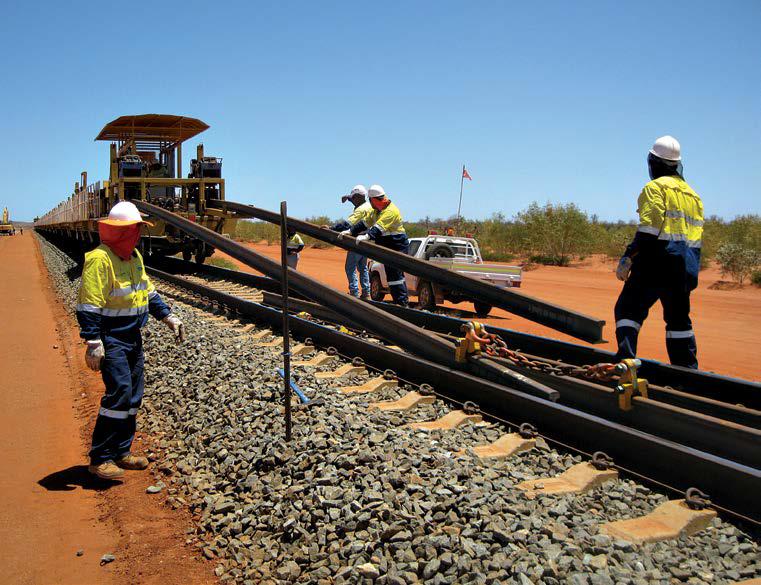 FMG Project Pilbara – Aveng Rail