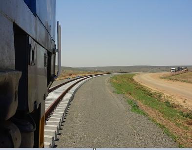 Majuba Rail Project – Construction of a permanent railway line